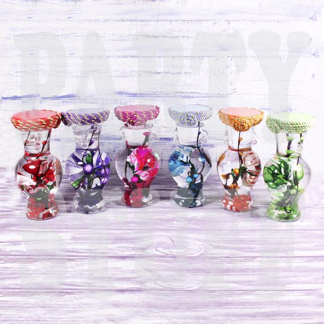 Декоративная бутылка Цветы