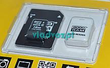 Карта памяти micro SD 16Gb Goodram + USB + Adaper, фото 3