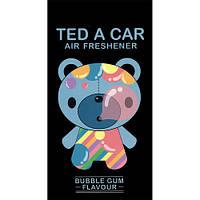 """Ароматизатор для авто/гардероба парфюмированный """"TED A CAR BUBBLE GUM"""" мужской запах"""
