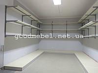 Торговые настенные стеллажи. Оборудование для магазина - торговые системы. ТО-134