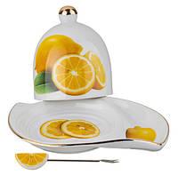 """Подставка под лимон с вилочкой """"Лимончик"""""""