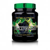 Scitec Nutrition L-Glutamine аминокислота глютамин для роста мышц спортивное питание