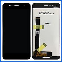 Дисплей (экран) для Asus ZenFone 3 Max (ZC520TL) 5,2 с тачскрином в сборе, цвет черный
