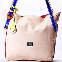 Женская сумка Velina Fabbiano персиковая