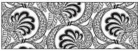 Калька URSUS А4 115г/м Черно-белая Вееры UR-53984609R