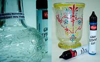 Гель витражный для стекла и керамики стеклоэффект VIVA 25мл Прозрачный VV-114400001