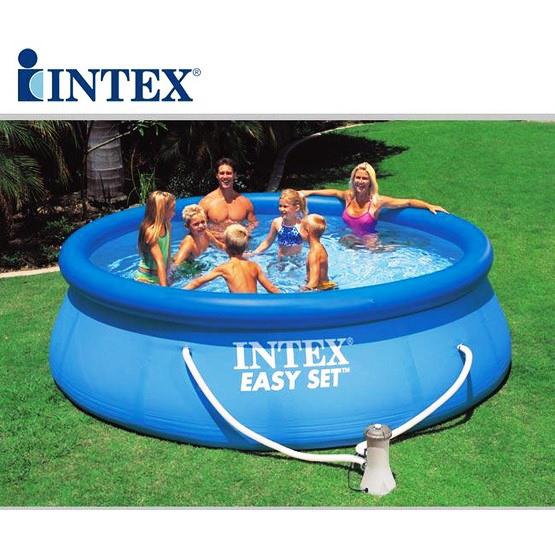 Надувной семейный бассейн Intex 28122 Easy Set 305х76 с фильтр насосом