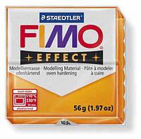 Глина полимерная FIMO Effect 56г Оранжевый полупрозрачный 8020-404