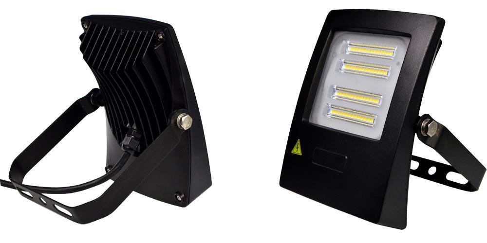 Светодиодный прожектор 1-LED-FL-30W-Super Penguin 30W 4500K/6000K