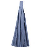 Кисточка тассел из тишью серые 35 см
