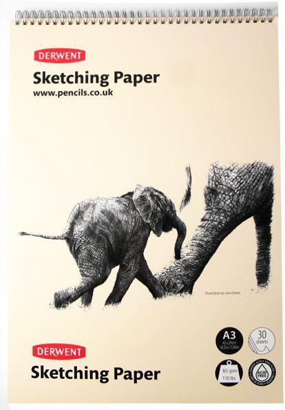 Блокнот для эскизов скетчбук А4 30л. 165г/м (для сухих и акварельных техник рисунка) D-2300139