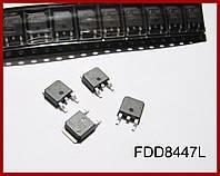 FDD8447L, MOSFET, полевой транзистор.