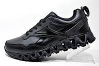 Кожаные кроссовки в стиле Reebok Zigwild tr2 Gore-Tex, Black