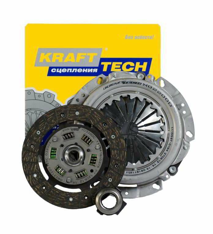 """Комплект сцепления Renault Logan,Clio,Kangoo 1,4л 8V """"Krafttech"""""""