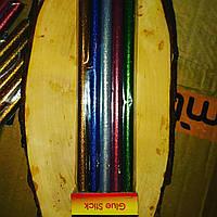 Клеевые палочки 11мм цветные