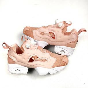 Женские кроссовки в стиле Reebok Insta Pump Fury NT OG Pink White (36, 37, 38, 39, 40 размеры), фото 2