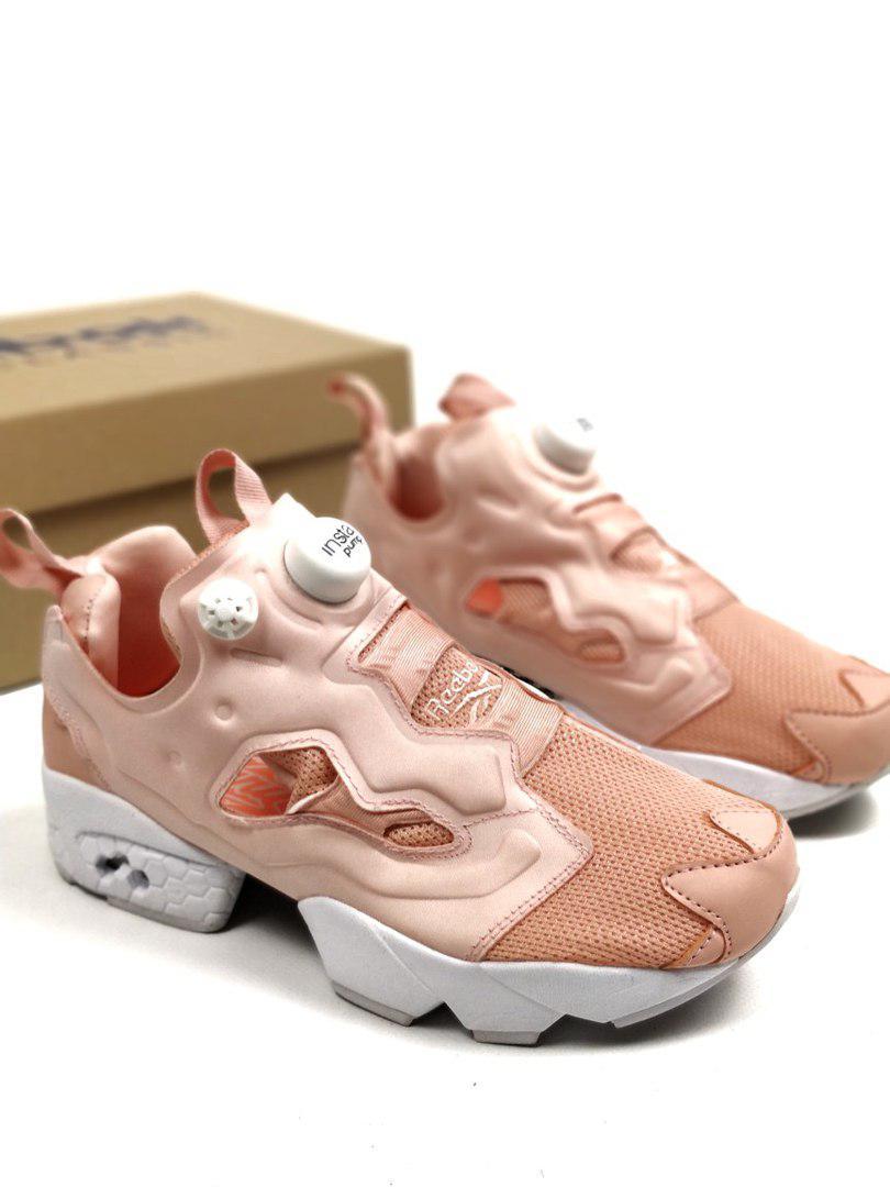 Женские кроссовки в стиле Reebok Insta Pump Fury NT OG Pink White (36, 37, 38, 39, 40 размеры)