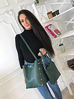 Стильный набор женских сумок 2в1 (сумка+клатч)