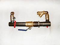 Байпас для систем отопления DN 50 кран/короткий