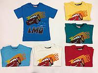 Футболка Тачки, детская футболка на мальчика 1-2 года