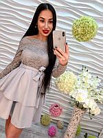 Женское кружевное платье DB-5049