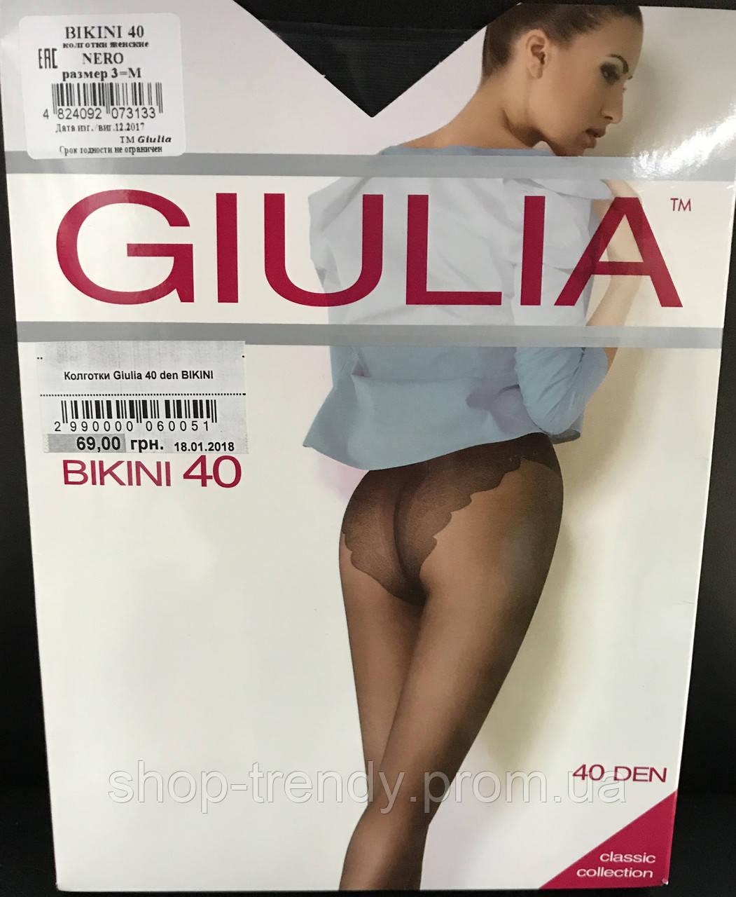 Женские колготки Bikini 40 den Giulia