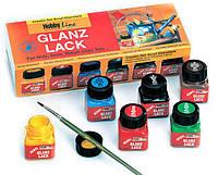 Набор акриловых красок глянц. KREUL Hobby Line в карт. короб. 79600