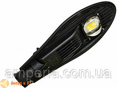 Світлодіодний світильник вуличний класичний COB 50W 5500LM 6000K EUROLAMP LED
