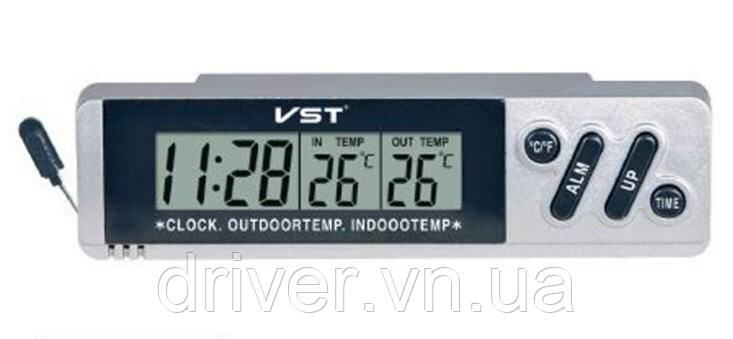 Автогодинник VST-7067, LCD 120-34-34mm