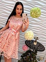 Роскошное романтичное платье из органзы