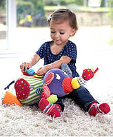 Слоник многофункциональная игрушка с птичкой дрожалкой, фото 1
