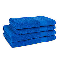 Рушник махровий 400г/м2 синій 40х70см