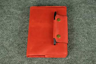 Обложка для ежедневника А5 с прошивкой |105104| Красный