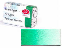 Краска акварельная - ЗХК Невская Палитра Белые Ночи в кюветах 2,5мл Зеленая светлая 1911717