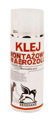 Клей-аэрозоль для полотна монтажный RENESANS 400мл