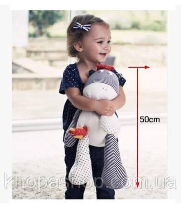 Мягкая игрушка для сна. Музыкальная. Mamas&Papas. Длина 50см.