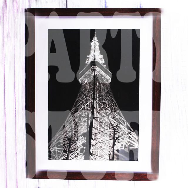 Фоторамка Эйфелева башня ночью