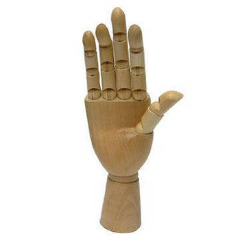 Манекен Рука D.K. ART-CRAFT деревянная, мужская 30,48см