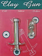 Экструдер (шприц) для пластики 19 насадок D.K. ART-CRAFT 51225