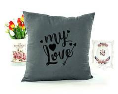 Декоративні подушки до 14 лютого