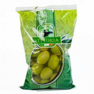 Гігантські зелені оливки з кісточкою Vittoria, 500г