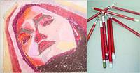 Карандаш пастельный DERWENT Pastel Pencils мягкий, для проф. P550 Коричневая земля D-2300284