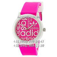 Часы Adidas Silicone 42mm Pink/White.