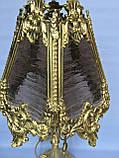 Бронзовая настольная лампа, фото 2