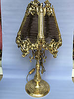 Бронзовая лампа