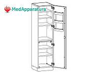 Шкаф медицинский без сейфа для медикаментов ШМ-1-01
