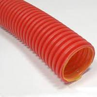 Труба 16мм 750Н морозостойкая усиленная ПНД гофрированная