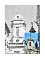 Картина раскраска с контурами на холсте РОСА 30*40см акрил Пейзаж №11