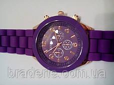 Наручные часы Geneva фиолетовые, фото 2