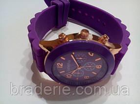 Наручные часы Geneva фиолетовые, фото 3
